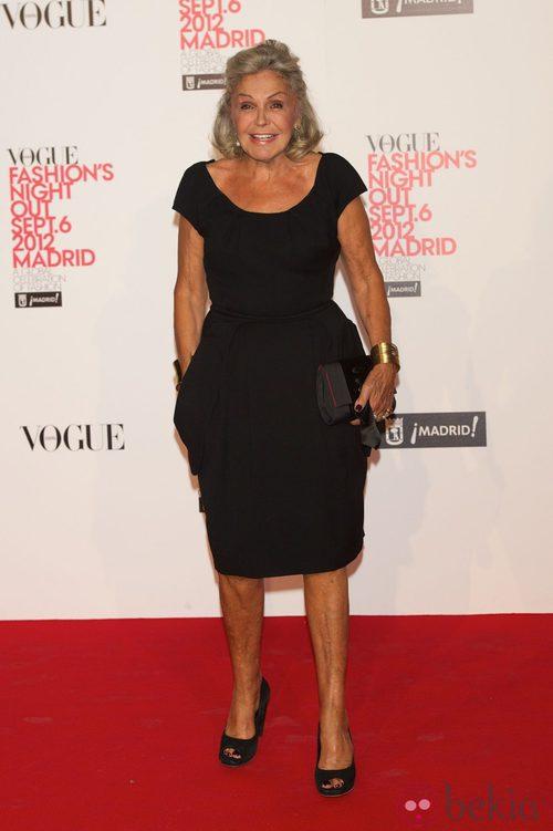 Beatriz de Orleans en la Vogue Fashion's Night Out 2012 en Madrid