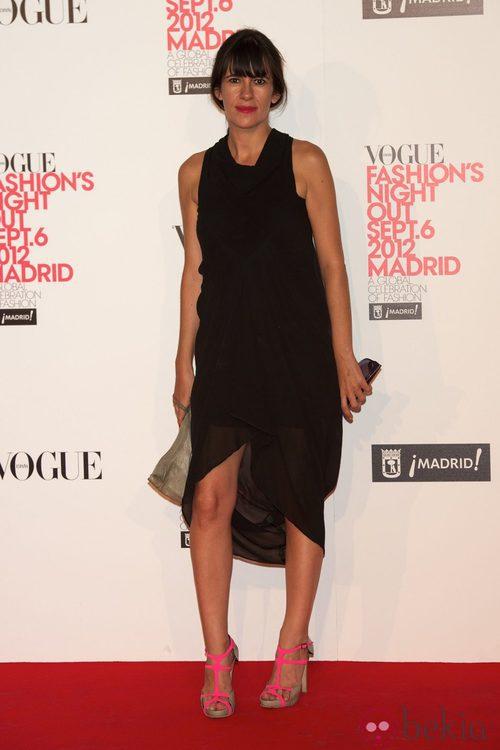 Amaya Arzuaga en la Vogue Fashion's Night Out 2012 en Madrid