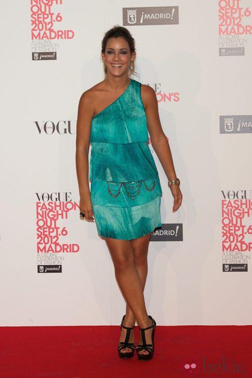 Alejandra Onieva en la Vogue Fashion's Night Out 2012 en Madrid