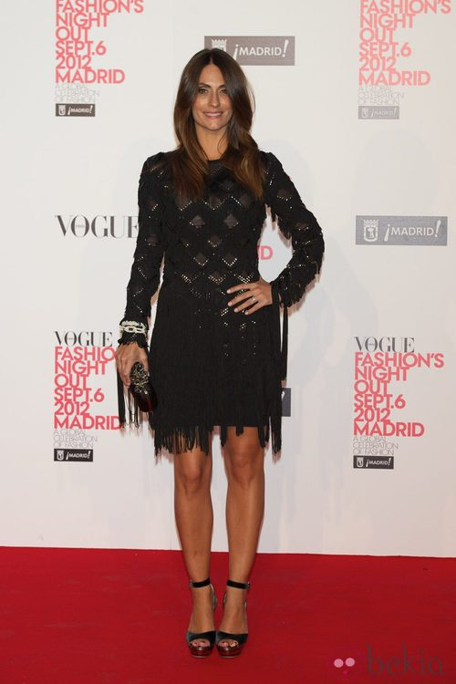 Nagore Aranburu en la Vogue Fashion's Night Out 2012 en Madrid