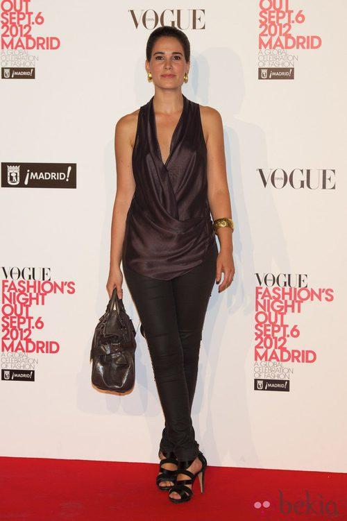 Celia Freijeiro en la Vogue Fashion's Night Out 2012 en Madrid