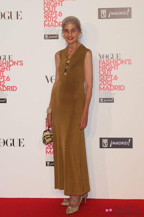 Eloisa Berceo en la Vogue Fashion's Night Out 2012 en Madrid