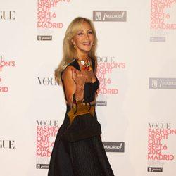 Carmen Lomana en la Vogue Fashion's Night Out 2012 en Madrid