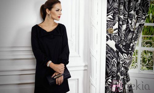 Paula Echevarría con un vestido lazo del otoño/invierno 2012/2013 de Suiteblanco