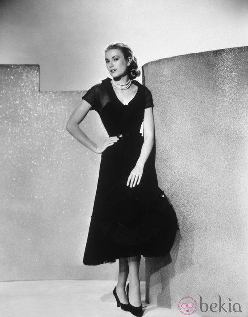 Grace Kelly con uno de los vestidos de 'La ventana indiscreta'
