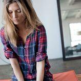 Camisa de cuadros de la colección femenina otoño/invierno 2012/2013 de Lee