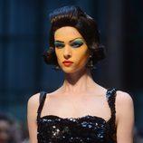 Conjunto negro de paillettes de Vivianne Westwood primavera/verano 2013