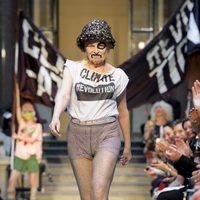 Vivianne Westwood revoluciona la Semana de la Moda de Londres