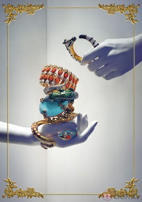 Pulseras de la colección de Anna Dello Russo para H&M