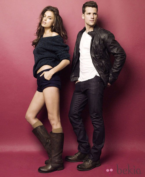 Irina Shayl y Arthur Sales en la nueva campaña otoño/invierno 2012/2013 de Xti