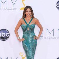 Sofía vergara con un diseño de Zuhair Murad en los Premios Emmy 2012