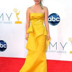 Las mejor vestidas de los Emmy 2012