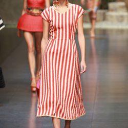 Desfile de Dolce & Gabbanna en la Semana de la Moda de Milán primavera/verano 2013