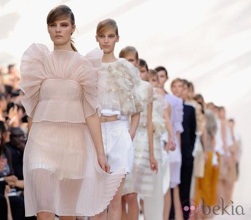 Desfile de Chloé en la Semana de la Moda de París primavera/verano 2013
