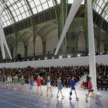 Desfile de Chanel en la Semana de la Moda de París primavera/verano 2013