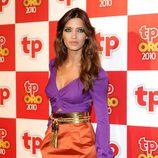 Sara Carbonero, color block según Gucci