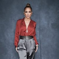 Jennifer Lopez, color block de Gucci