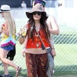Vanessa Hudgens, la versión más hippie del sombrero de ala ancha