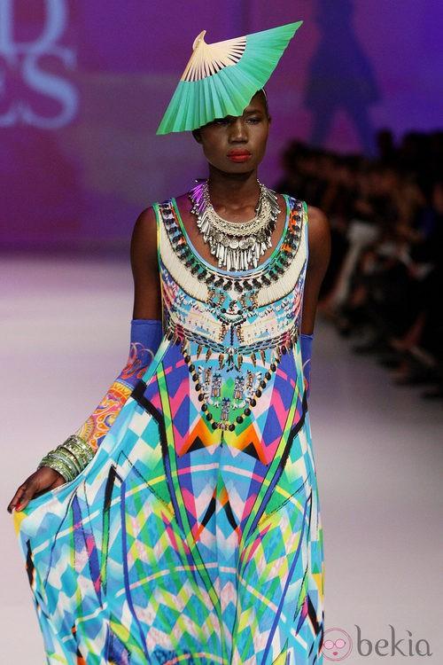 Diseño de inspiración étnica de David Jones