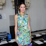 Olivia Palermo con vestido de flores de Zara