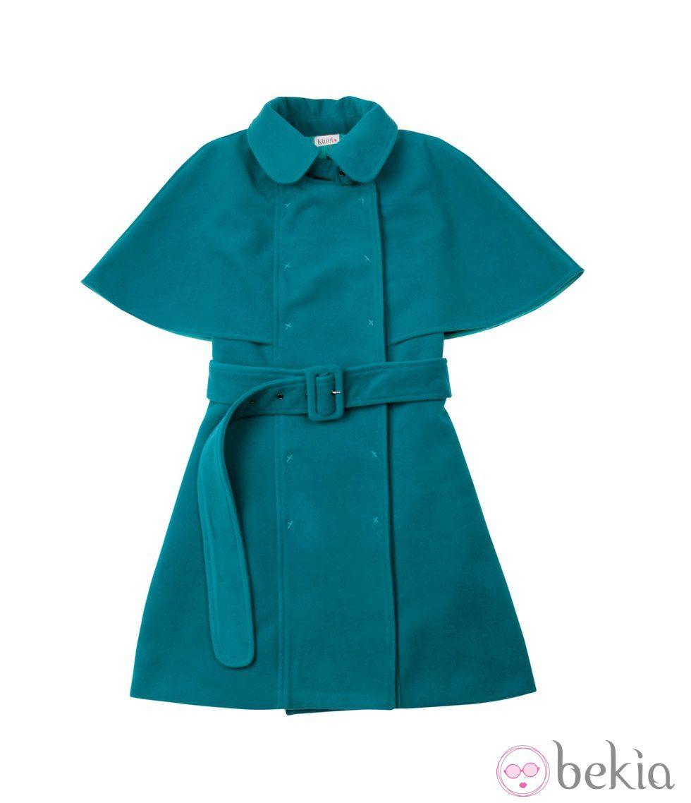 Abrigo capa con cinturón de Kling