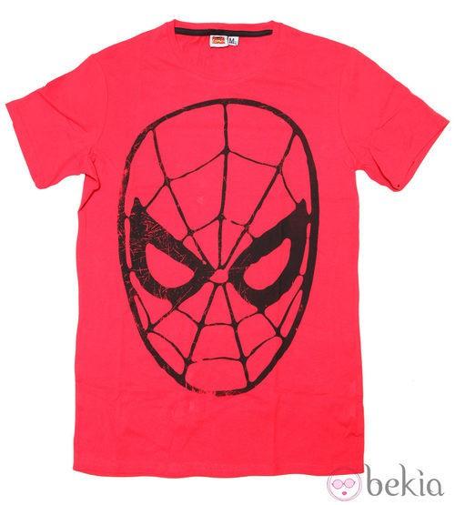 Camiseta de Spider-man de Bershka