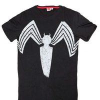 Camiseta con logo de Venom de Bershka