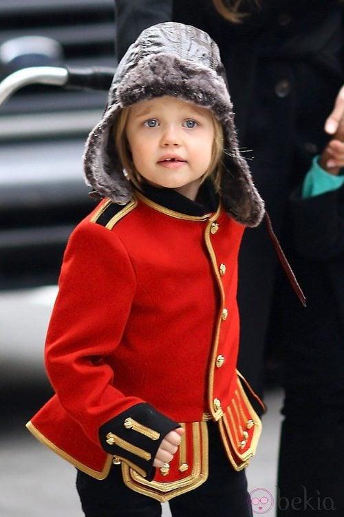 Shiloh, hija de Angelia Jolie y Brad Pitt