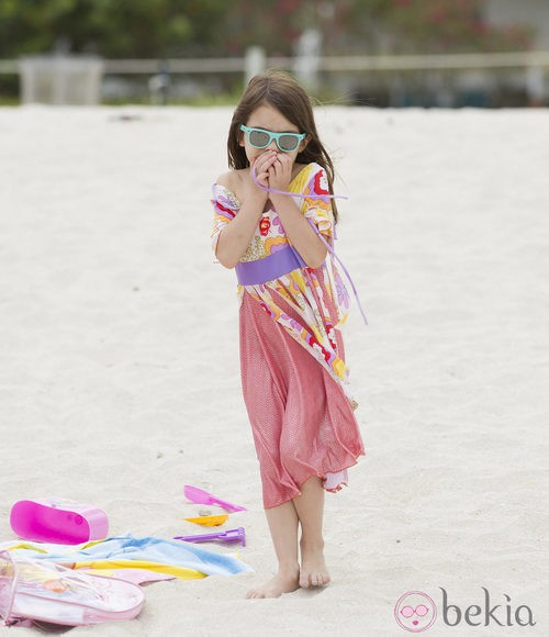 Look playero de Suri Cruise