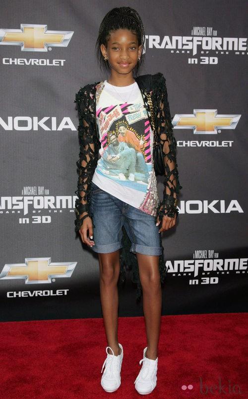 Willow Smith con camiseta de 'El príncipe de Bel Air'