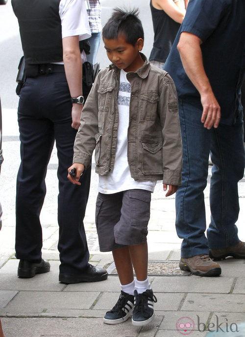 Maddox, hijo de Angelina Jolie y Brad Pitt