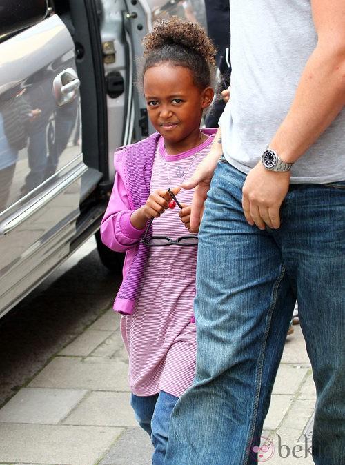 Zahara, hija de Angelina Jolie y Brad Pitt