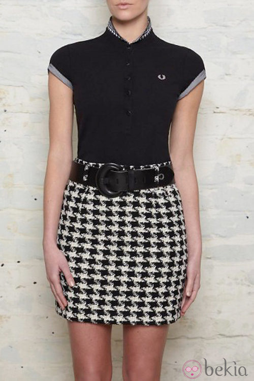 Polo y falda de Amy Winehouse para Fred Perry