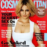 Dianna Agron, portada de Cosmopolitan USA en septiembre de 2011