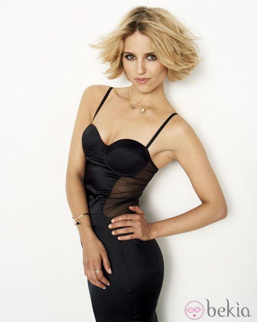 Dianna Agron, sensual en el número de septiembre de Cosmopolitan USA