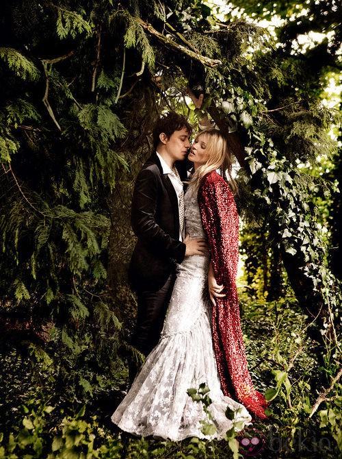 Kate Moss y Jamie Hince en Vogue USA