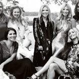 Kate Moss, Stella McCartney, Vivienne Westwood y más invitadas a su boda en Vogue
