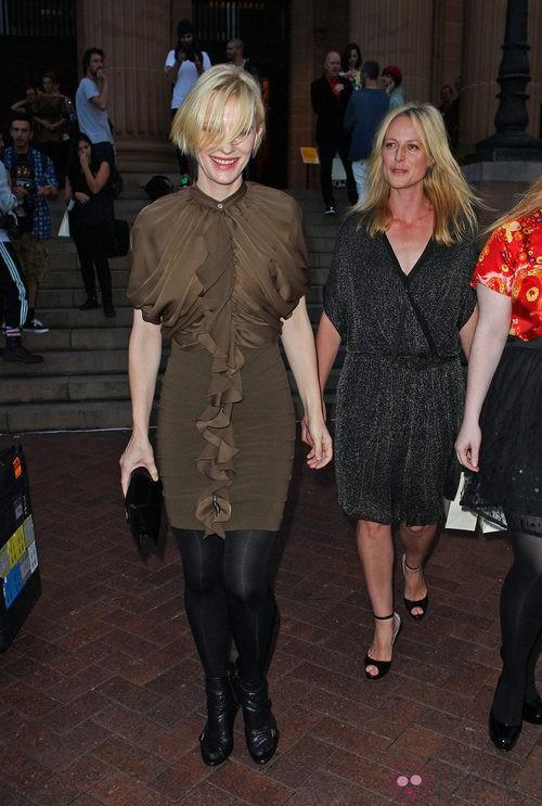 Cate Blanchett en la Semana de la Moda de Sidney