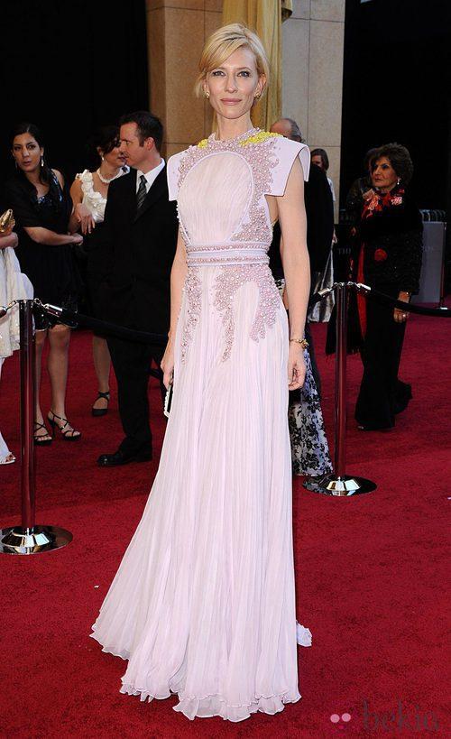 Cate Blanchett de Givenchy en los Oscar 2011