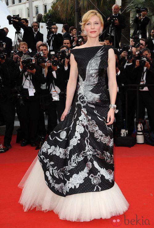 Cate Blanchett con vestido de Alexander McQueen