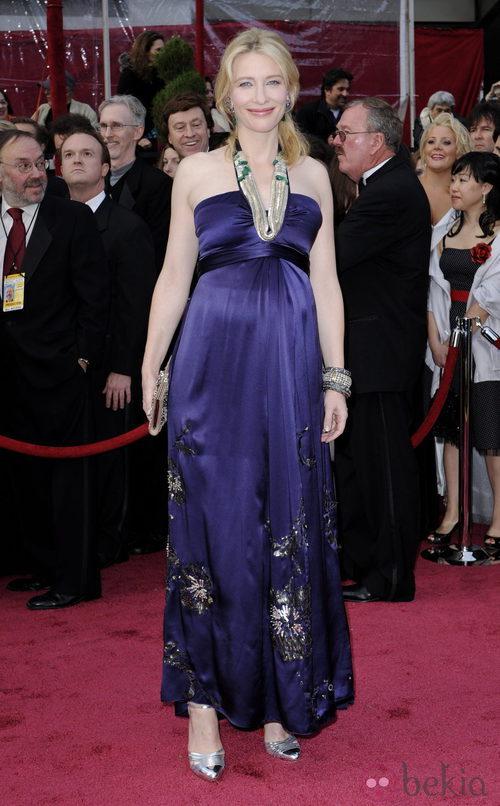Cate Blanchett, embarazada en los Oscar 2008