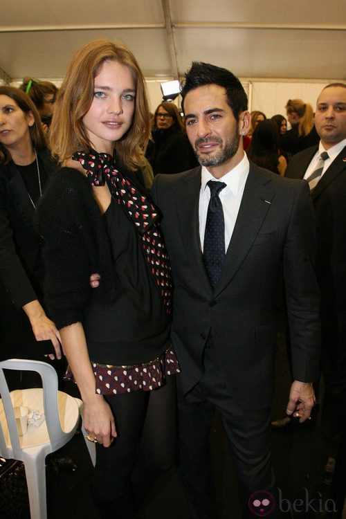 Marc Jacobs y Natalia Vodianova