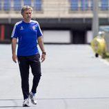 Mourinho en chándal en las instalaciones del Real Madrid