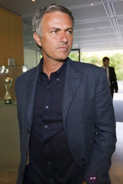 Mourinho opta por trajes de chaqueta clásicos