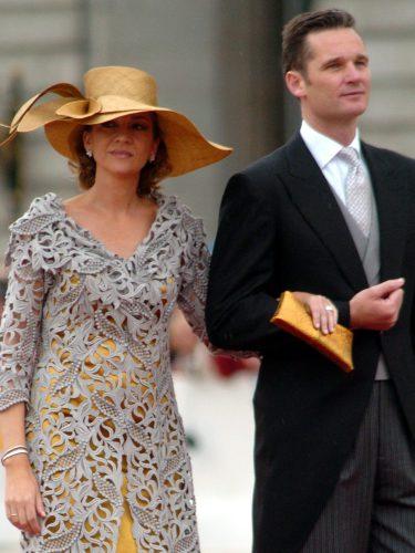 La Infanta Cristina vestida de Jesús del Pozo