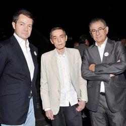 Javier Larraínzar, Jesús del Pozo y Roberto Verino