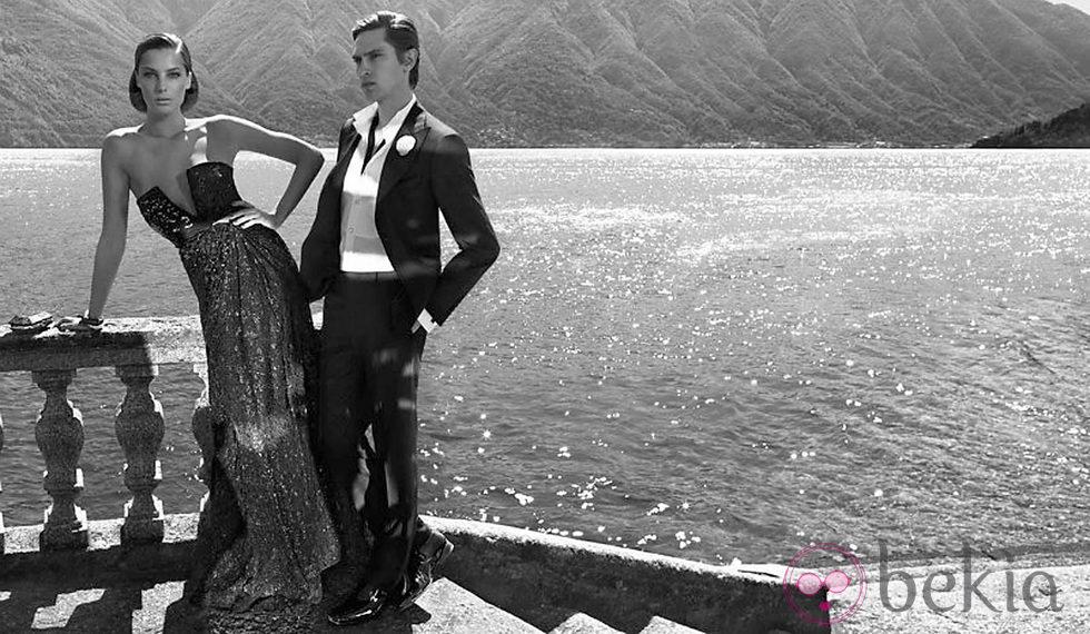 Campaña otoño/invierno 2011 de Ferragamo con Daria Werbowy