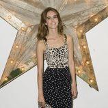 Jade Williams de Dolce & Gabbana en una fiesta de Net-a-porter