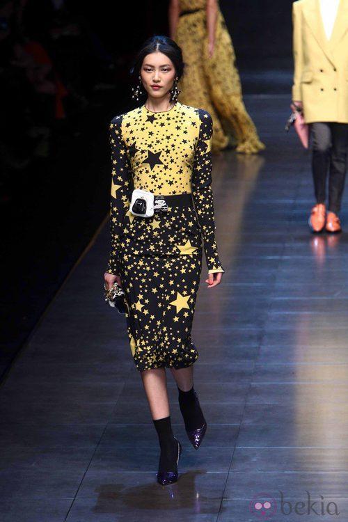 Conjunto otoño/invierno 2011 de Dolce & Gabbana