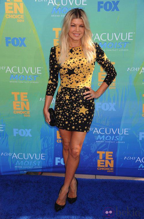 Fergie, estrellas de Dolce & Gabbana en los Teen Choice Awards